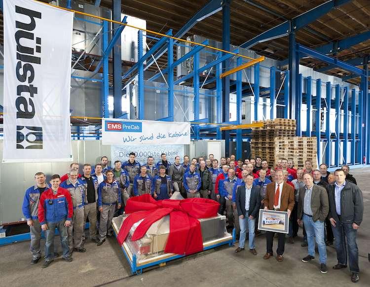 10.000 Kabine auf der Meyer Werft überreicht / © Meyer Werft