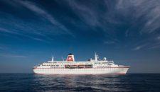 Chronik: MS Deutschland als ZDF Traumschiff