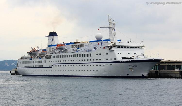 MS Berlin in Monaco