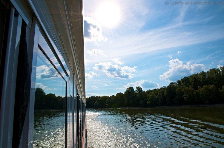 A-Rosa Silva auf der Donau