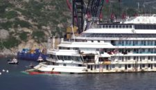 Costa Concordia hat Giglio verlassen: Insel ist den Schandfleck los