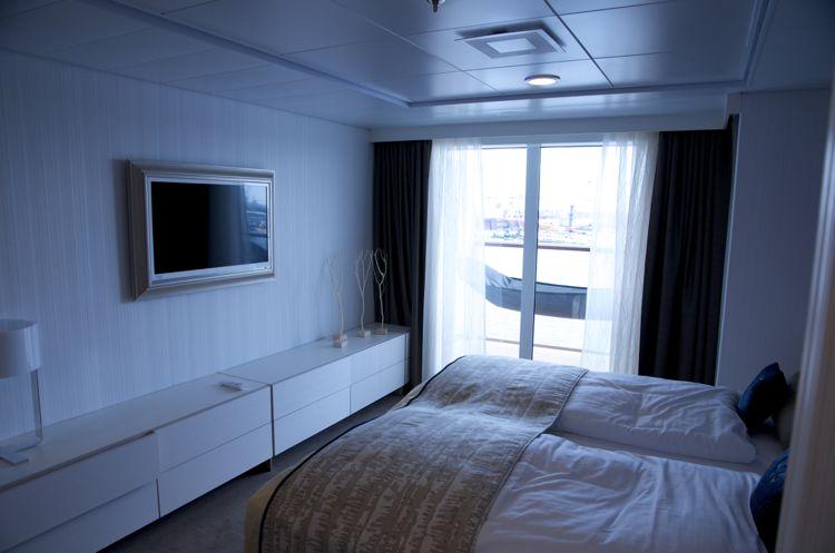 Mein Schiff 3: Schlafzimmer Helene Fische Suite 10001