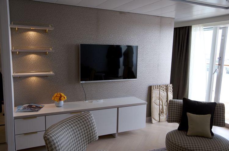 Mein Schiff 3: Wohnbereich Helene Fischer Suite 10001