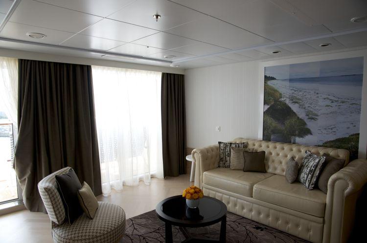 Mein Schiff 3: Wohnbereich Helene Fische Suite 10001