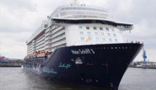 Mein Schiff 3 crasht Auslaufparade der Cruise Days 2017 – sie ist manövrierunfähig