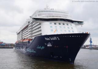 Die Mein Schiff 3 im Hamburger Hafen