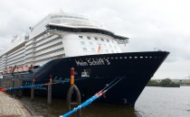 TUI Cruises Neubau heute erstmals in Hamburg!