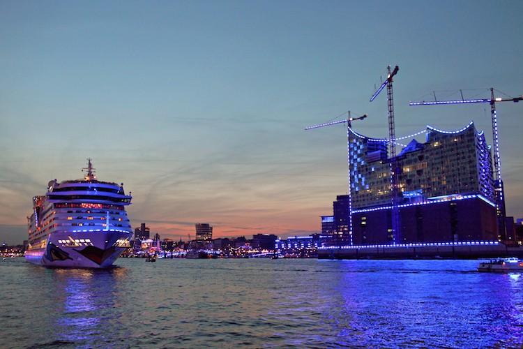 AIDAluna - Hamburg Blue Port / © AIDA Cruises
