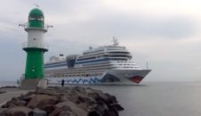 Dreifach-Anlauf in Warnemünde: Royal Princess, AIDAmar und Costa Fortuna