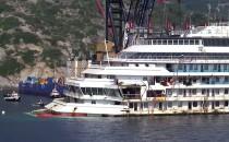 Die Costa Concordia ist wieder aufgetaucht: die letzte Reise startet Mittwoch