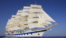 Schnupperkreuzfahrt mit Royal Clipper: Inselhopping im Mittelmeer