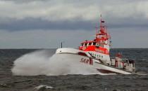 Seenotretter helfen Segler mit Kopfverletzung in der Nordsee