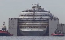 Costa Concordia: Ankunft in Genua (Video)