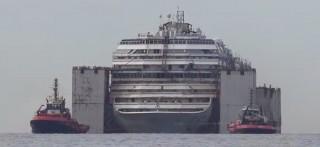 Costa Concordia auf ihrer letzten Fahrt