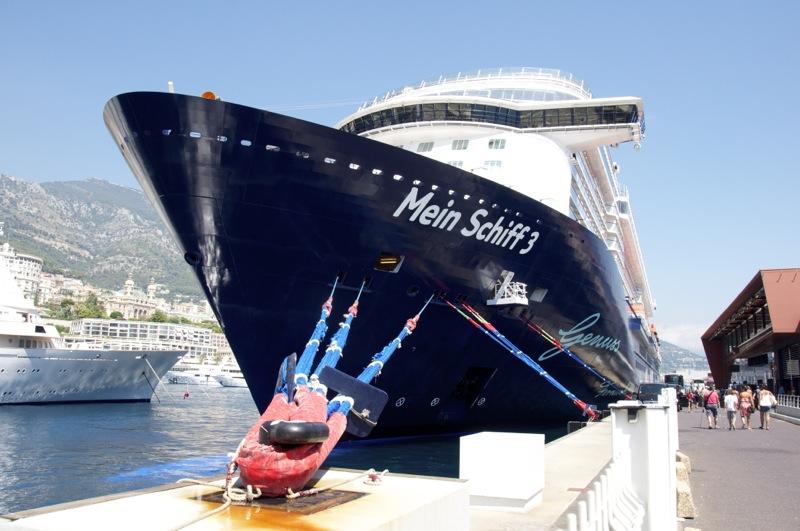 Mein Schiff 3 in Monte Carlo