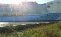 Quantum of the Seas ist in Bremerhaven angekommen