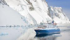 Ein kleines Expeditionsschiff im größten Fjord der Welt: Die Sea Spirit
