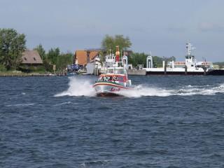 """Seenotrettungsboot """"Dornbusch"""" / © DGzRS"""