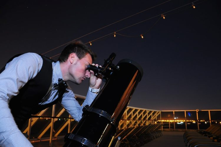 Skymaster-Teleskop auf Costa neoRiviera / © Costa Crociere