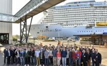 64 neue Auszubildende lernen bei der Meyer Werft in Papenburg