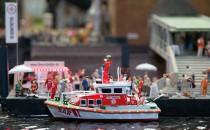 DGZRS-Seenotretter zogen im Miniatur-Wunderland Hamburg ein