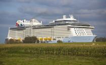 Quantum of the Seas: Testfahrten auf der Nordsee nach Emsüberführung
