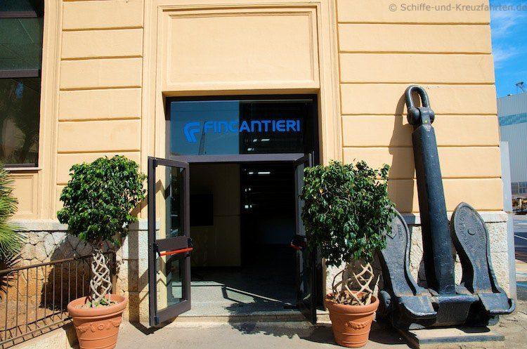 Fincantieri Werft Italien