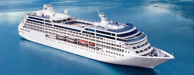 Ocean Princess wird zur MS Sirena/ © Princess Cruises