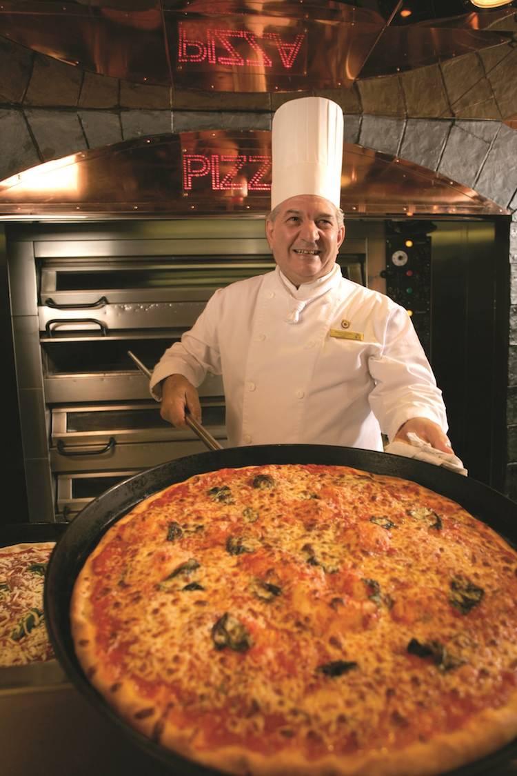 Original italienische Pizza bei Costa Kreuzfahrten / © Costa Kreuzfahrten