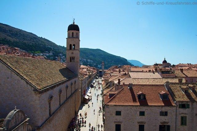 Stradún in der Altstadt Dubrovnik