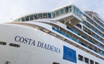 Costa Diadema offizielle Übernahme und Indienststellung
