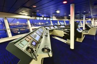 Kommandobrücke der Quantum of the Seas / © Meyer Werft
