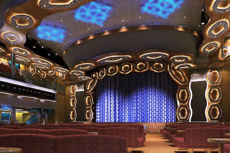 Theater Emerald auf der Costa Diadema / © Costa Kreuzfahrten