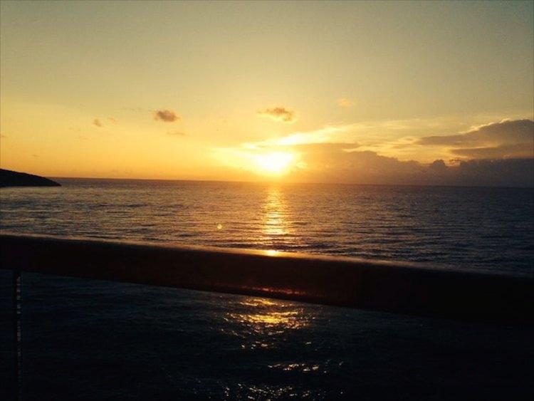 Sonnenaufgang auf der Costa Luminosa