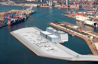 Richtfest für das Hamburg Cruise Center 3 Steinwerder / © Hamburg Port Authority