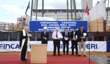 Kiellegung der Carnival Vista bei Fincantieri