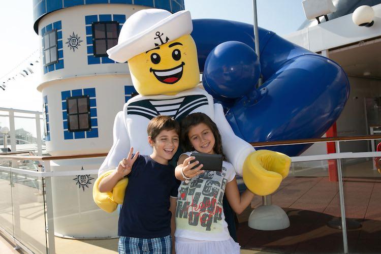 Lego an Bord von MSC / © MSC Kreuzfahrten