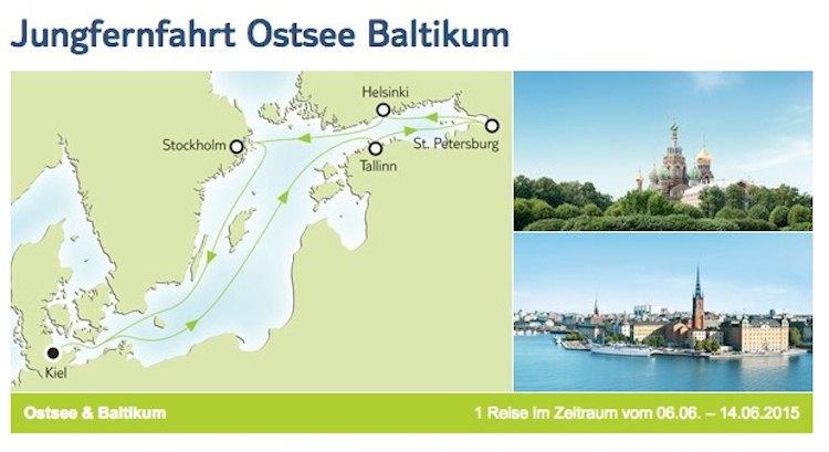 Jungfernfahrt der Mein Schiff 4 buchbar: Route, Preise und Details