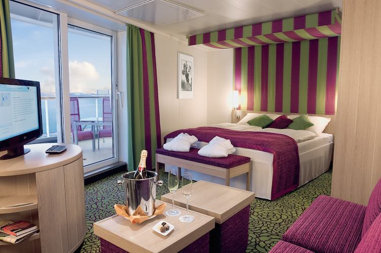 Suitengäste erhalten nun einen Mehrwert / © AIDA Cruises