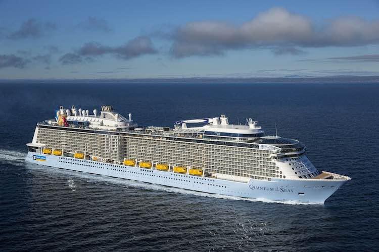 Quantum of the Seas auf Probefahrt / © Meyer Werft