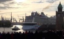 Video: Quantum of the Seas Erstanlauf in Hamburg
