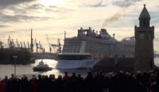 Video: Quantum of the Seas Erstanlauf in Hamburg