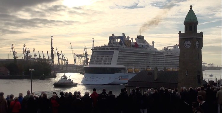Video der Quantum of the Seas in Hamburg