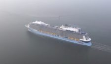 Video: Quantum of the Seas aus der Luft