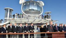 Quantum of the Seas wurde heute offiziell übergeben: Bilder vom Neubau