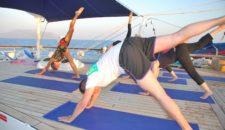 Yoga auf hoher See: Star Clippers mit Yoga-Kursen auf den Segelschiffen