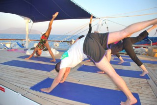 Yoga an Bord der Star Clipper Flotte / © Star Clipper