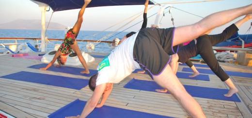 Yoga an Bord der Star Clipper Flotte / © Star Clipper