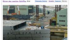 Bilder vom zweiten AIDA-Neubau in Japan aus dem Dock