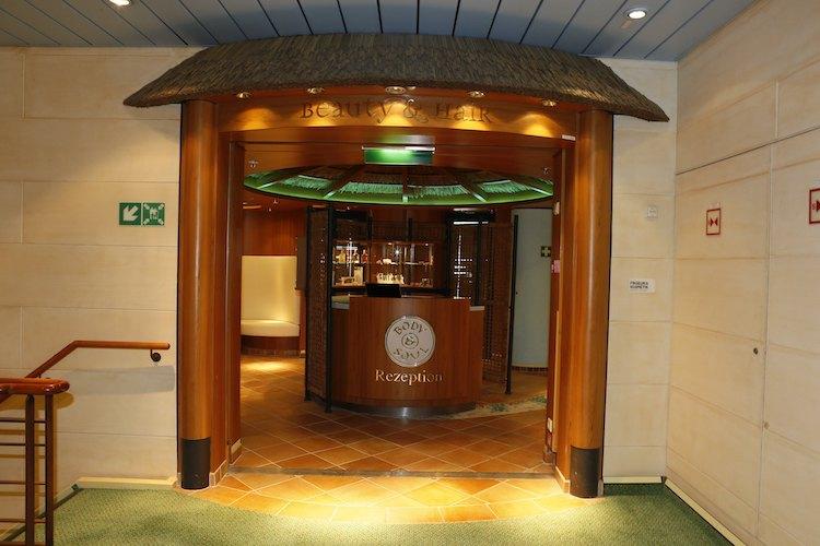 AIDAvita SPA Rezeption / © AIDA Cruises